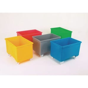 Mobile pallet box