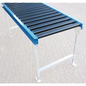 Plastic gravity conveyor track - Roller conveyor track