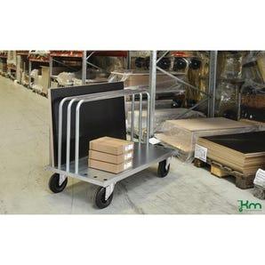 Konga heavy duty zinc plated board trolley