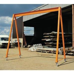 Light duty steel gantries