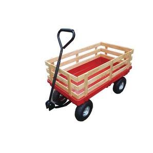 Lightweight plastic platform truck