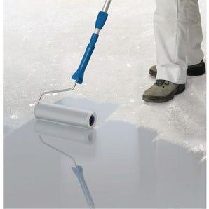 Quick drying floor coating