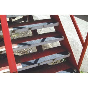 Easy clean slip resistant tapes