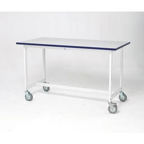 Heavy duty mailroom benches - Mobile bench