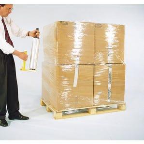 Clear cast polyethylene stretch wrap - 5 cartons (30 rolls)