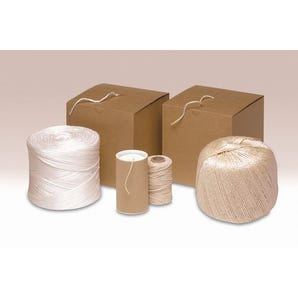 Twine in dispenser boxes