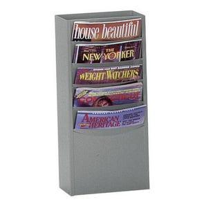 Metal literature display racks