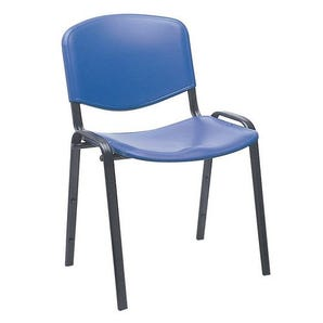 Basic plastic stacking chair