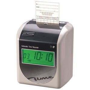 Fully automatic time recorders