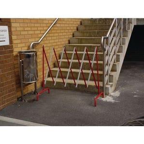Lightweight small expanding barriers