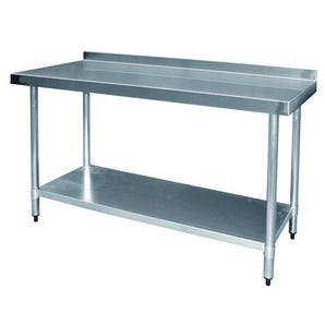 Value stainless steel top preparation tables