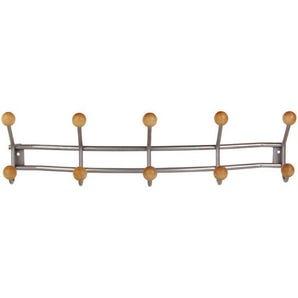 Economy coat rail with hooks