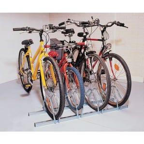 Floor mounted cycle racks