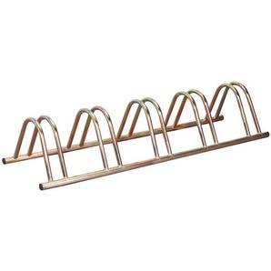 Economy floor / wall mounted cycle rack