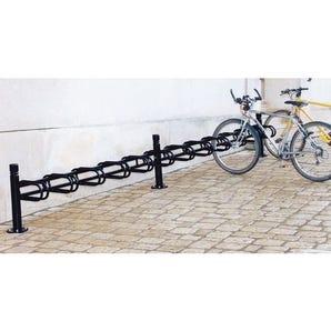 Post mounted modular cycle stand