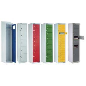 Garment storage lockers