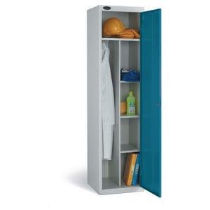 Probe economy janitors' locker