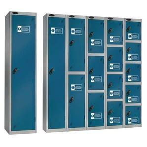 Probe personal protective equipment lockers