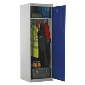Large capacity uniform lockers