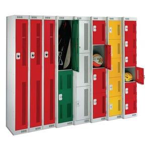 Perforated lockers