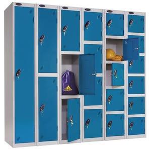 Probe blue door premium locker - Standard top
