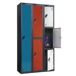 Probe black body industrial lockers