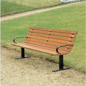 Wooden bench seats - Russet seat