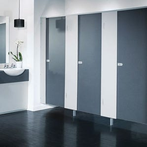 Washroom Cubicle - Partition kit only (Box B)