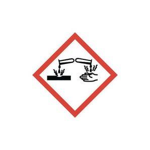 CLP regulation labels - Corrosive