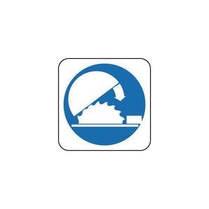 Mandatory signs - Use adjustable guard