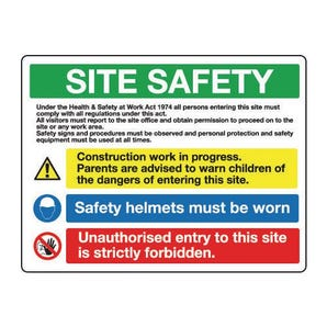 Site safety - Site safety - health and safety at work act
