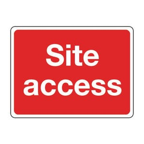 General construction - Site access