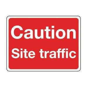 General construction - Caution site traffic