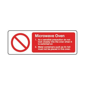Food processing and hygiene - Microwave oven