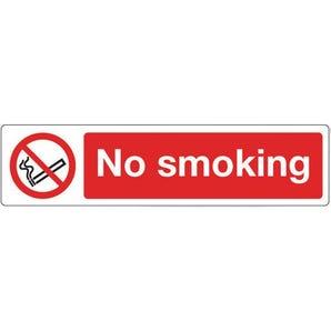 Mini prohibition signs - No smoking