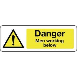 Construction and general hazards - Danger men working below