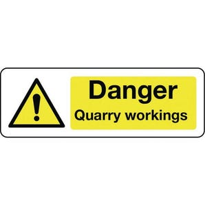 Construction and general hazards - Danger quarry workings