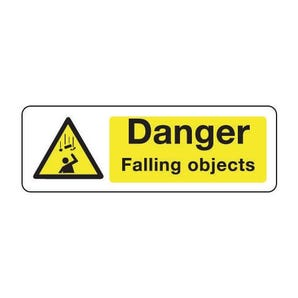 Construction and general hazards - Danger falling objects
