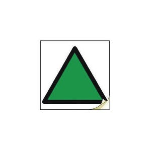 Hand arm vibration safety - Green triangle
