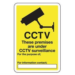 CCTV These premises are under CCTV surveillance
