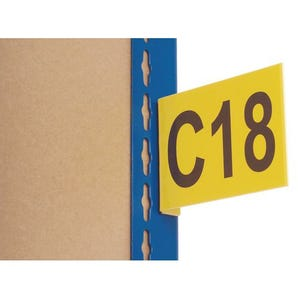 Aisle markers - Yellow