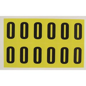 Self-adhesive numbers and letters - Letter O