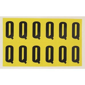 Self-adhesive numbers and letters - Letter Q