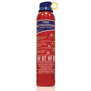 ABC Powder aerosol fire extinguishers