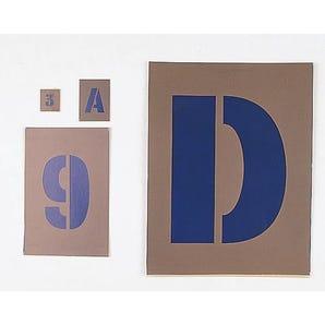 Letter and number stencils - Letter and number sets