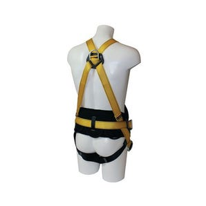 Fall arrest harnesses - Harness with work positioning belt with additional chest D ring