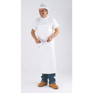PVC/nylon supported aprons