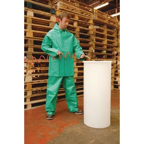 Chemical jacket & trousers