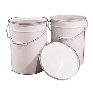 Tinplate pails - sold in packs