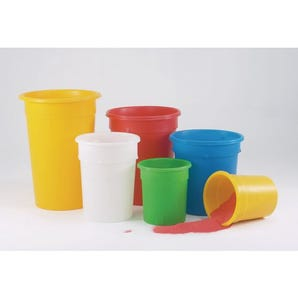 Coloured tubs - Lids sold separately